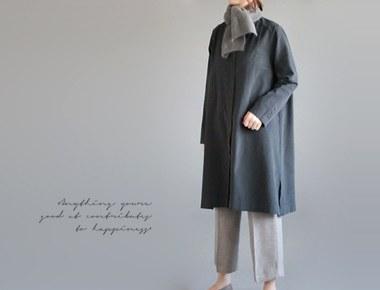 [当日出荷] proenシャツワンピース - 墨色州ドア幅週間縫製、ディテール本当に良い〜