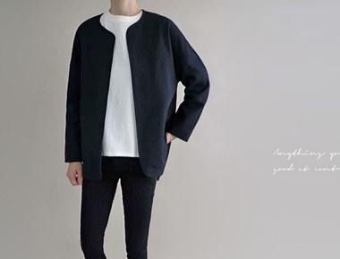[当日出荷]サマーセットジャケット - ジーンネイビーほぼ黒に近い色です:)