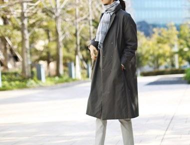 [当日出荷] HERMEコート - 墨色ガンジョルギアイテムでグッド素材、ディテール本当によく出てきた〜