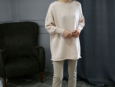 【新上5%がある] rea knit  -  3cやわらかい肌触り優しい価格ですね^^