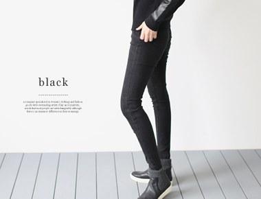 street cutting jean伸縮性の良い起毛素材股上が若干長くフィット感がさらに楽〜に適した情報サイズ