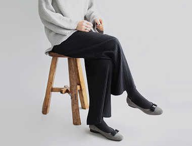 [当日出荷] me pleats wide pants  -  2c高級感のある素材