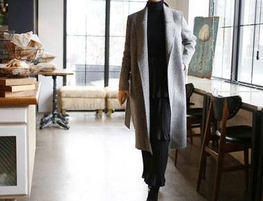 check handmade coat
