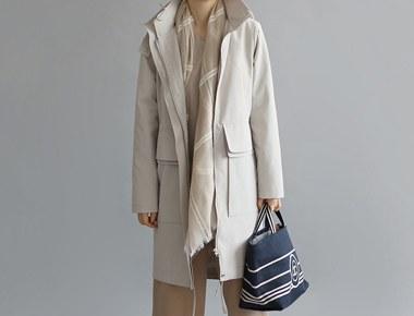 [当日出荷]ヴェネタ像コート - ライトベージュのディテールだ生かしたそれに比べて優しい価格^^洗練された高級ながら長く着デザインですよ^^