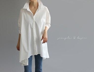 [当日出荷] [新上5%がある]マイルドシャツの女性ながらも素敵な丈感十分です^^