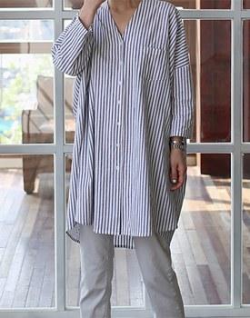 Alto stripe long shirts