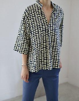 May print blouse