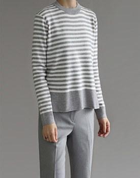 Stripe knit top - 2 colors