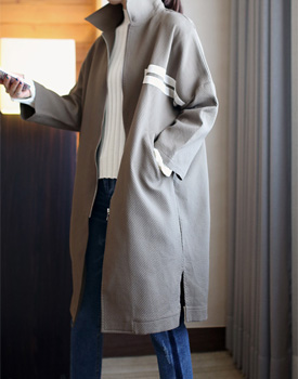 WD tape Long coat - 2C