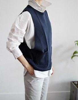 Maison knit vest
