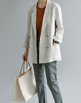 French Linen double jacket