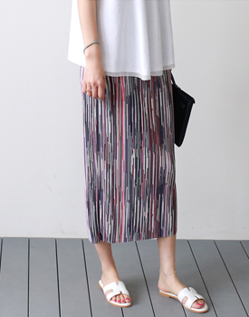 Dime Pleats Skirt - 2c