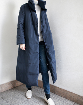 Mar duckdown Long coat