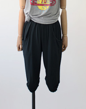 Andy capri baggy pants