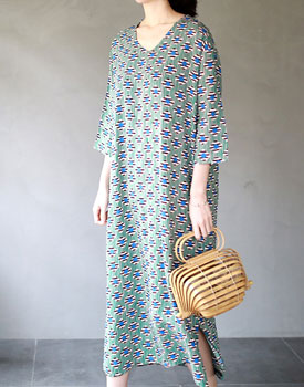 Clear textile printing onepiece