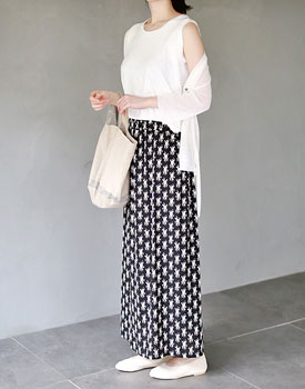 Bambi long skirt