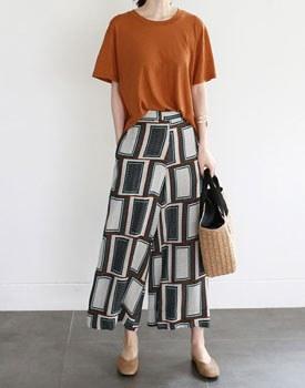Klein print pants