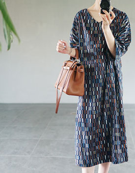 Isabelle textile printing onepiece