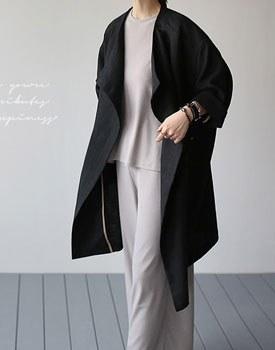 Made linen overfit coat - 2c