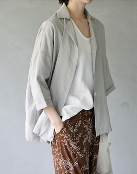 Highbrow linen jacket - 2c