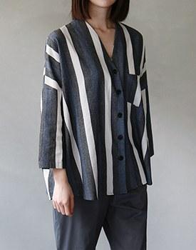 Jude vneck jacket & shirt
