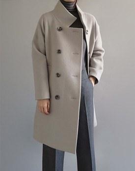 [当日出荷]クロエcoatウール90%分厚い厚みで暖かく高級ですよ:)注文殺到