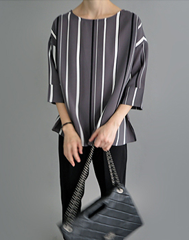 Matiel stripe blouse