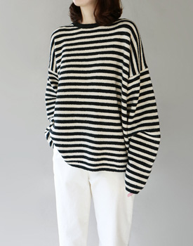 Been Stripe knit - 2c