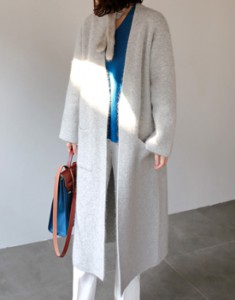Angora Cardigan Coat