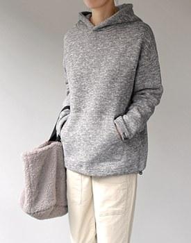 Bocassi String fleece-lined Hood - 2c
