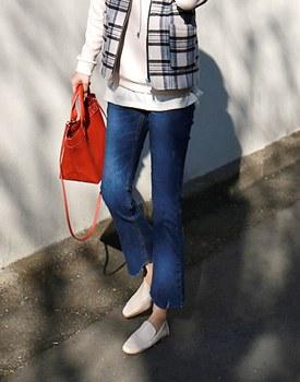 Vendor Slim boots cut Jean