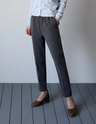 Joan band slacks - grey