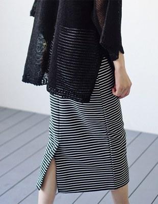 Toss stripe skirt - 2c