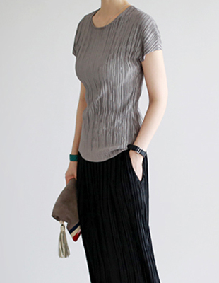 Renee Pleated Tea - 2c