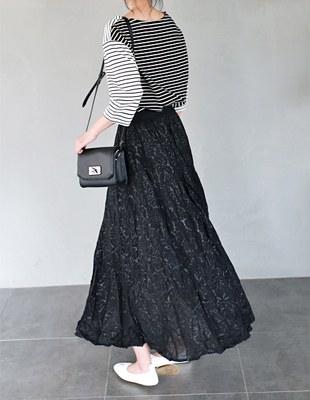 Fappy pleats skirt - 2c