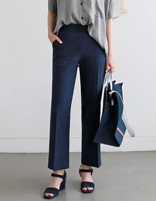Bran linen pants - 3c