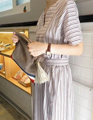 Studio Stripe Dress