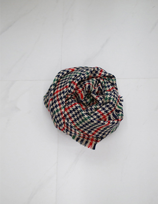 Leona wool shawl