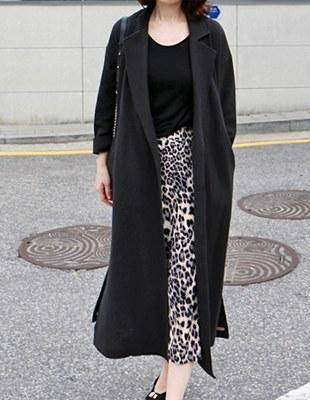 Lever Long coat