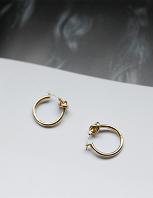 Cell twist earring