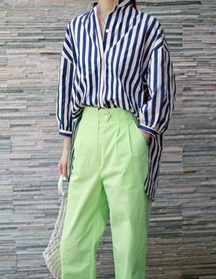 Eto stripe shirt - 3c