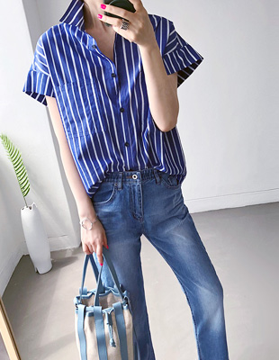 Randy striped shirt
