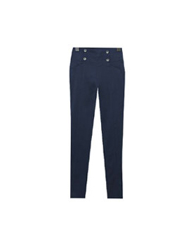 4 Button skinny pants
