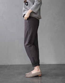RC slub jogger pants -  2c