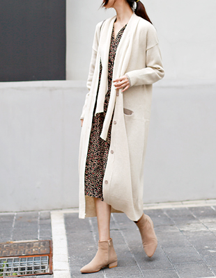 Selection long cardigan - 3c
