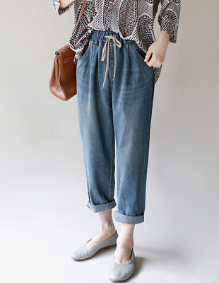 Connect vintage exhaust jean