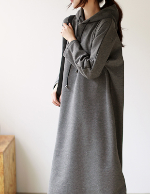 Eights Hooded Dress - 2c
