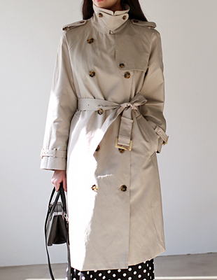 gentle trench - coat