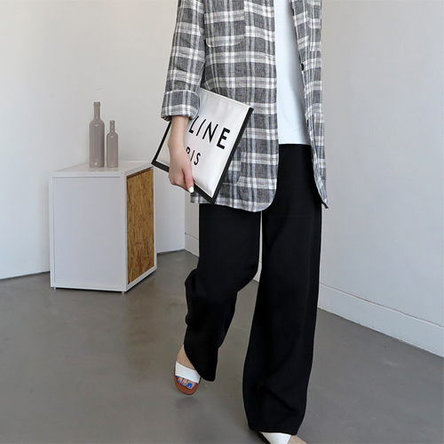 Lima Wide Long Pants - 3c