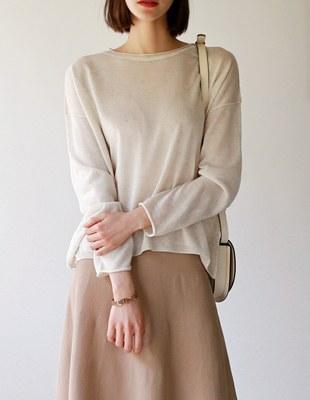 rag knit top